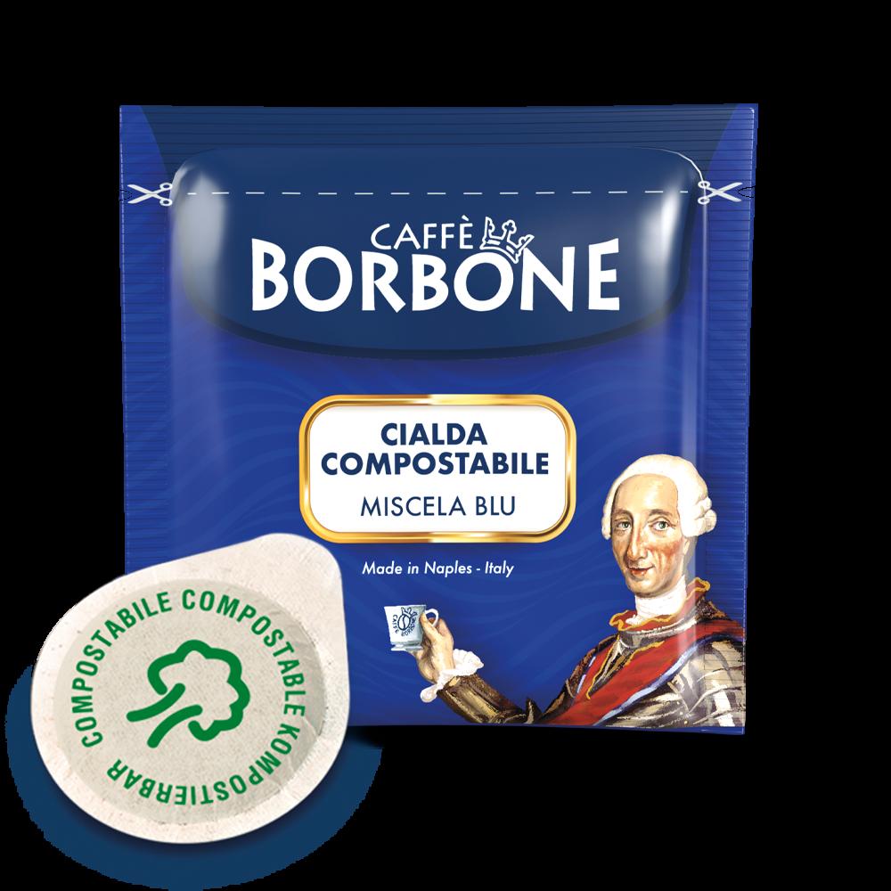 Cialde compostabili ESE 44mm Caffè Borbone Miscela Blu