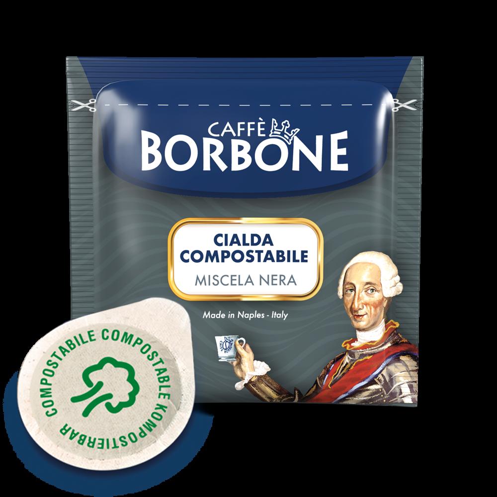 Cialde compostabili ESE 44mm Caffè Borbone Miscela Nera