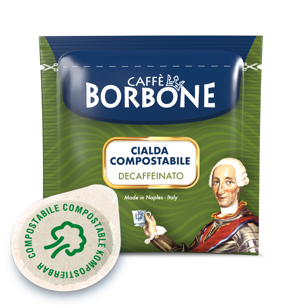 Cialde compostabili ESE 44mm Caffè Borbone Miscela Verde