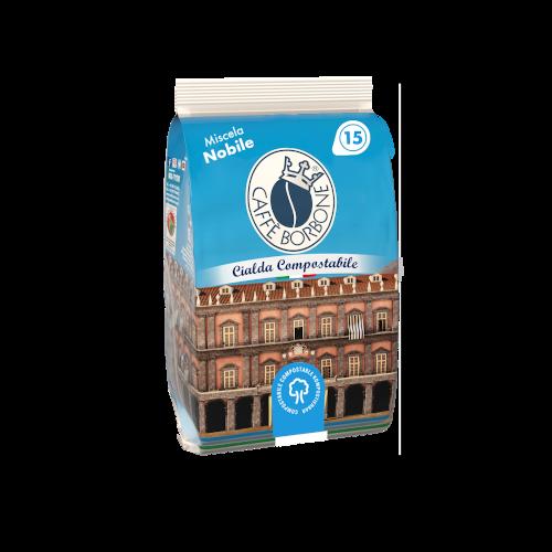 Cialde compostabili ESE 44mm Caffè Borbone Miscela Nobile 15 caffè