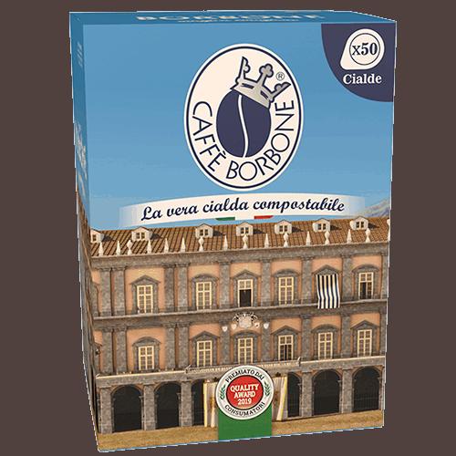 Cialde compostabili ESE 44mm Caffè Borbone 50 caffè