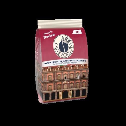 Capsule compatibili con macchine a marchio Lavazza A Modo Mio Miscela Decisa 10 caffè