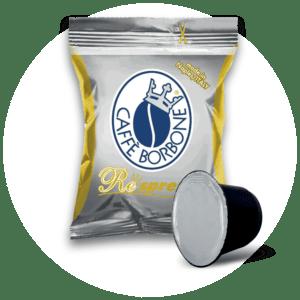 Capsule compatibili con macchine a marchio Nespresso ad uso domestico Miscela Oro