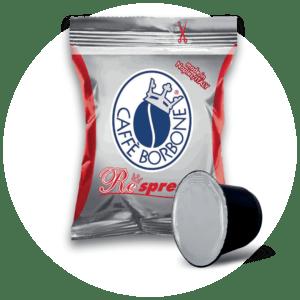 Capsule compatibili con macchine a marchio Nespresso ad uso domestico Miscela Rossa