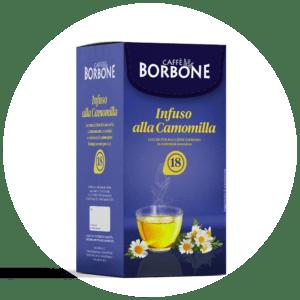 Cialde compostabili ESE 44mm Caffè Borbone Infuso alla Camomilla
