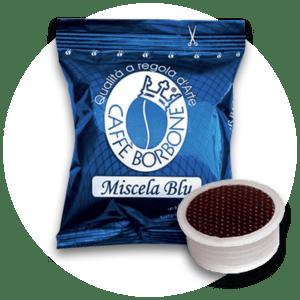 Capsule compatibili con macchine a marchio Lavazza Espresso Point Miscela Blu
