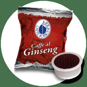 Capsule compatibili con macchine a marchio Lavazza Espresso Point al gusto di Ginseng