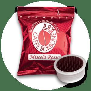 Capsule compatibili con macchine a marchio Lavazza Espresso Point Miscela Rossa