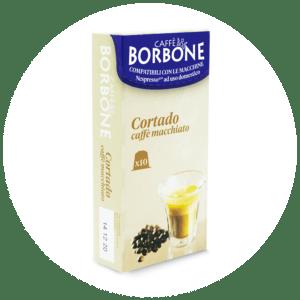 Capsule compatibili con macchine a marchio Nespresso ad uso domestico Cortado caffè macchiato