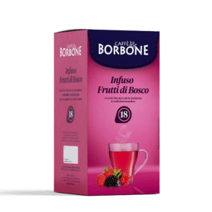 Cialde compostabili ESE 44mm Caffè Borbone Infuso Frutti di Bosco