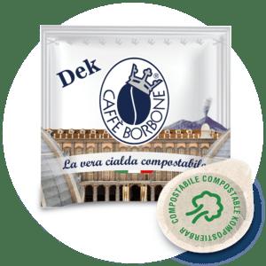 Cialde compostabili ESE 44mm Caffè Borbone Miscela Dek