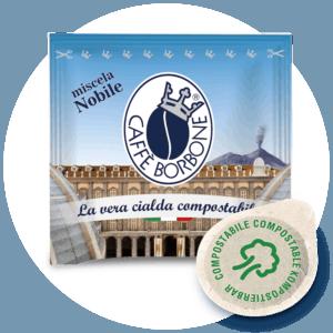 Cialde compostabili ESE 44mm Caffè Borbone Miscela Nobile