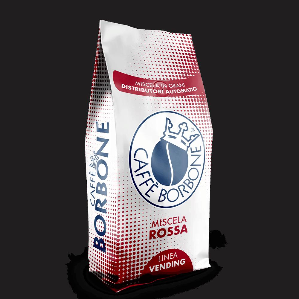 Miscela Rossa in grani per distributori automatici - Linea Vending