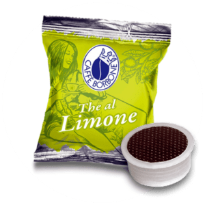 Capsule compatibili con macchine a marchio Lavazza Espresso Point al gusto di The al limone