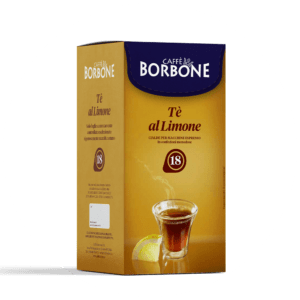 Cialde compostabili ESE 44mm Caffè Borbone Tè al Limone