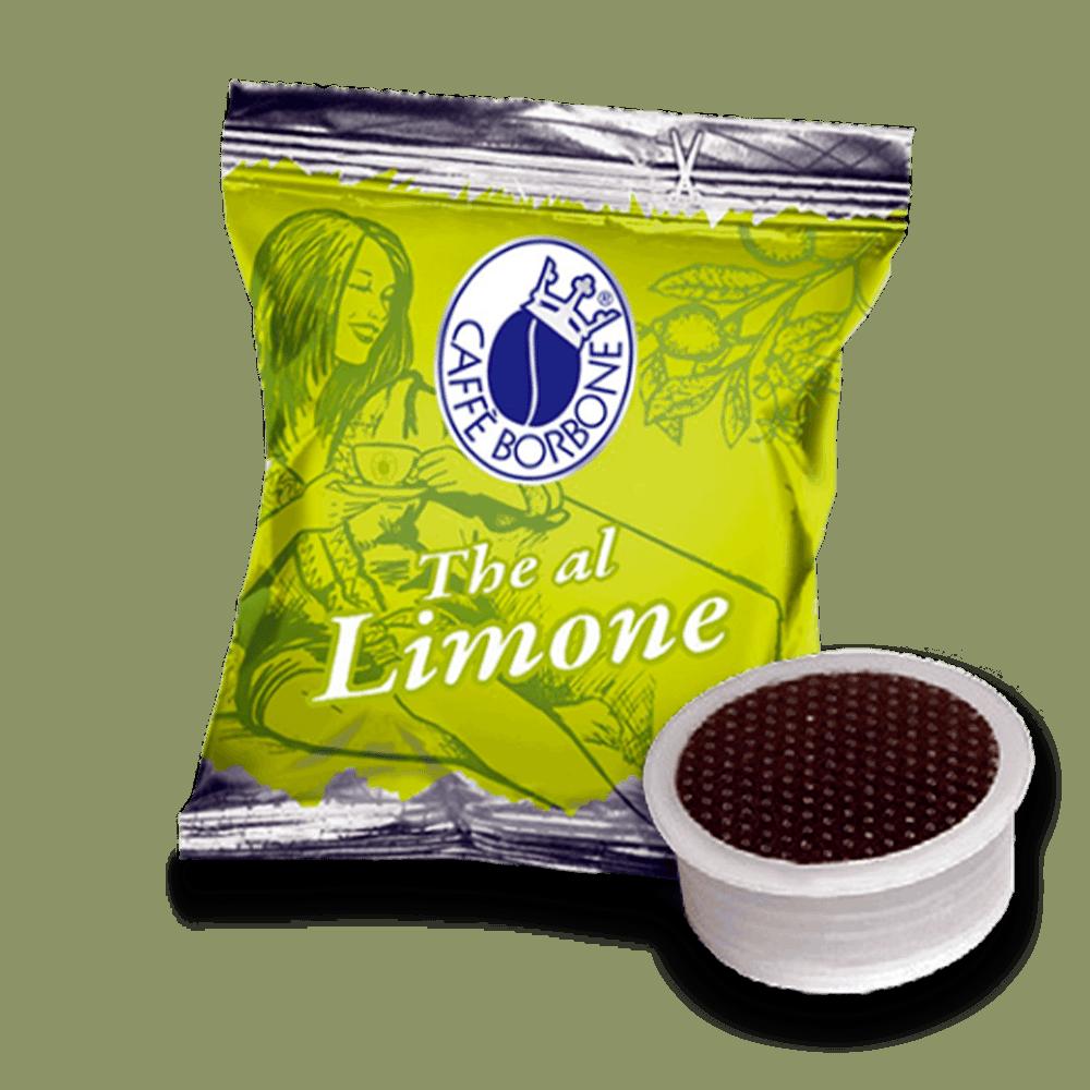 Capsule compatibili con macchine a marchio Lavazza Espresso Point The al limone