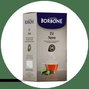 Cialde compostabili ESE 44mm Caffè Borbone Tè Nero