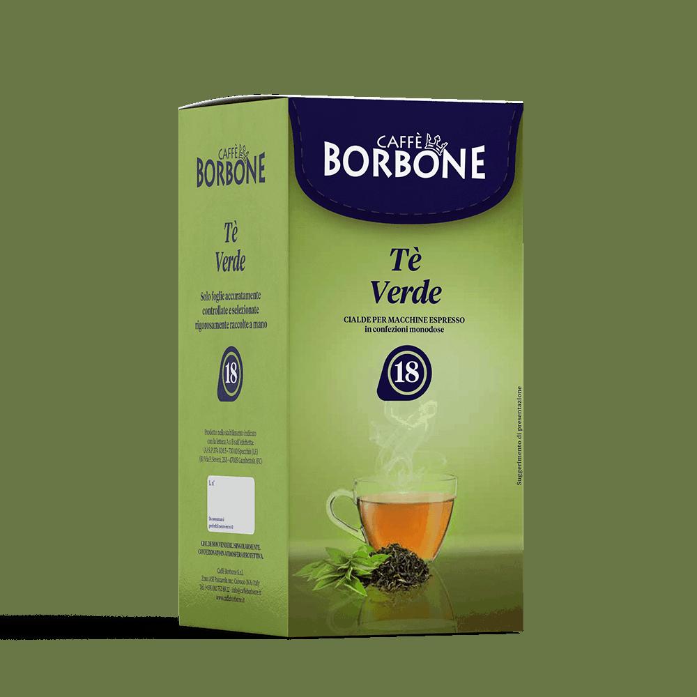 Cialde compostabili ESE 44mm Caffè Borbone Tè Verde
