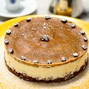 Cheesecake al caffè – caffè borbone – napoli – 3