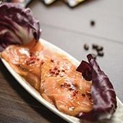 salmone marinato al caffe – caffe borbone – napoli – 3